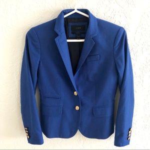 J.Crew Schoolboy Blazer Royal Blue 00P